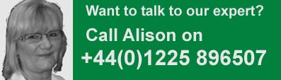 alison business card